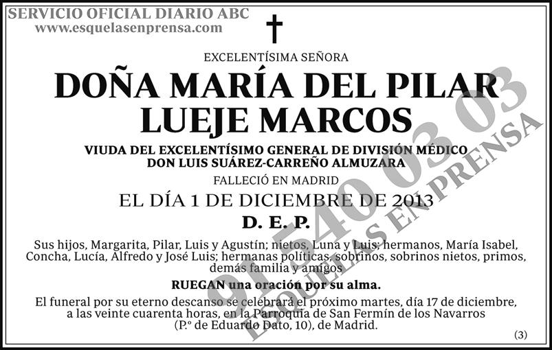 María del Pilar Lueje Marcos